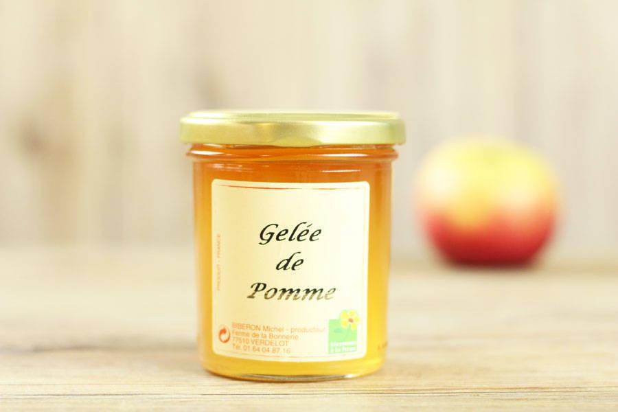 Gelée de pomme - Ferme de la Bonnerie - La Ruche qui dit Oui ! à la maison