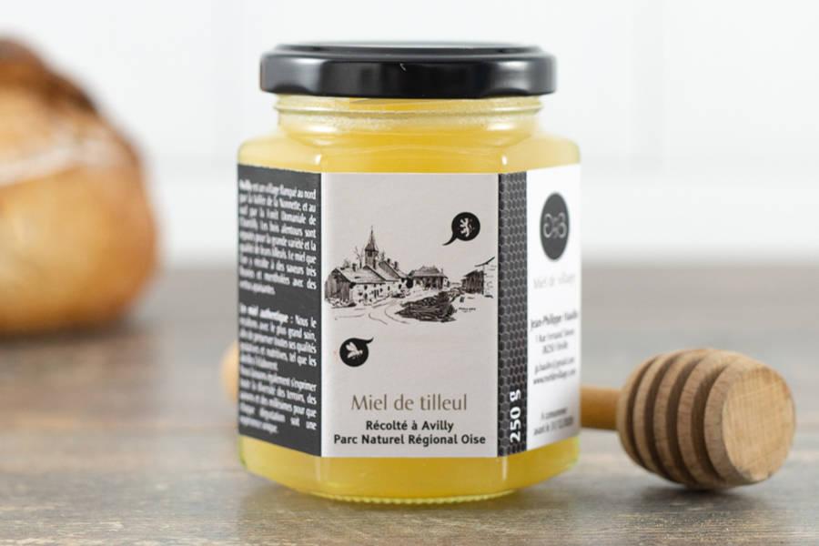 Miel de tilleul 250 g - Miel de village - La Ruche qui dit Oui ! à la maison