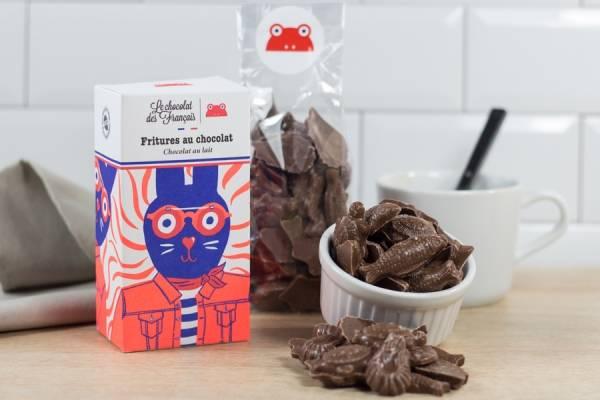 Friture de chocolat au lait - Le Chocolat des Français - Le Comptoir Local