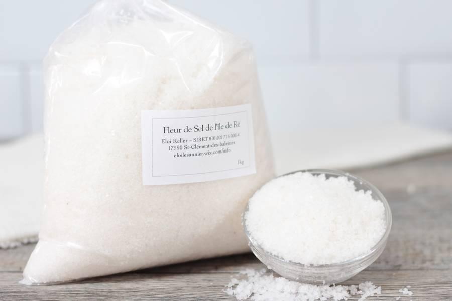 Fleur de sel 1kg - ERéK - La Ruche qui dit Oui ! à la maison