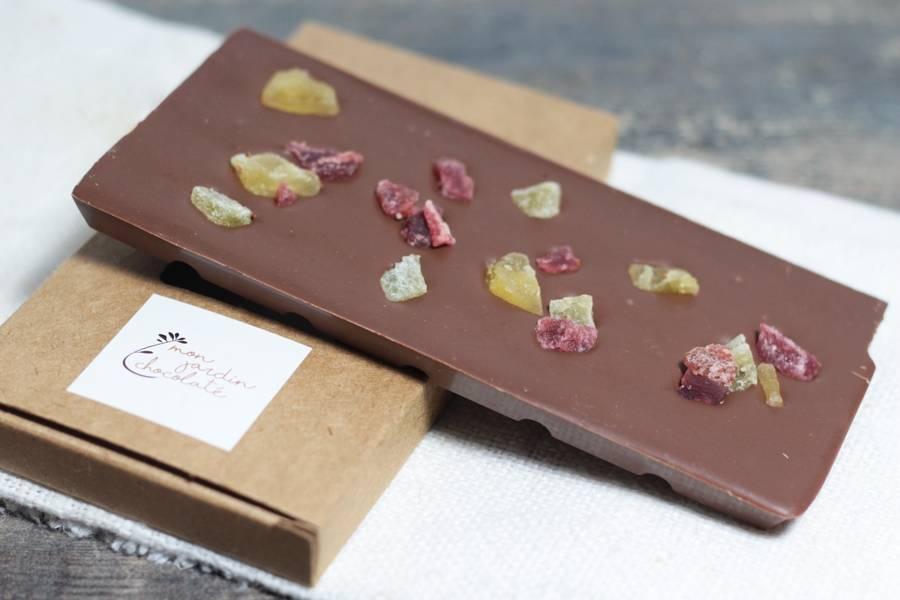 Tablette aux fruits - Mon Jardin Chocolaté - La Ruche qui dit Oui ! à la maison