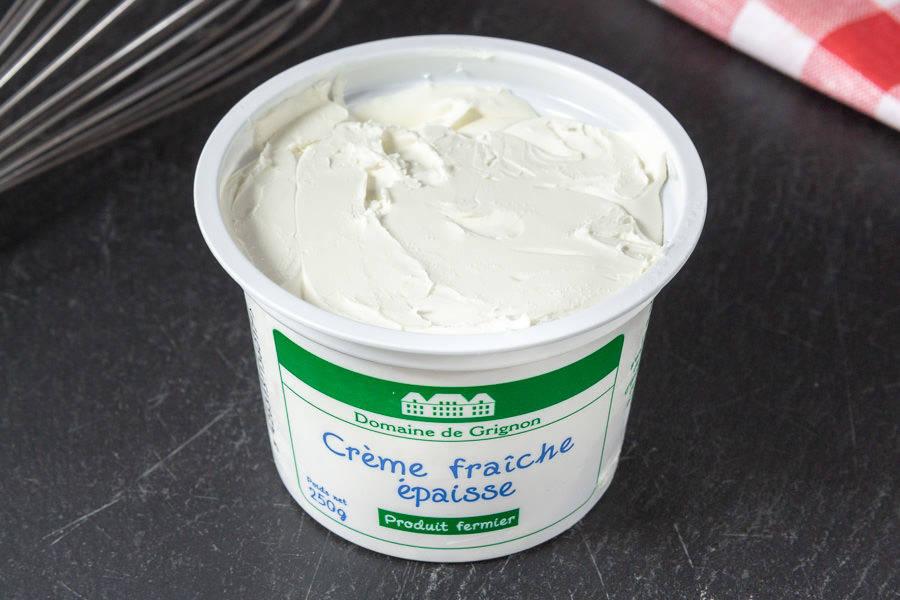 Crème fraîche épaisse - Ferme de Grignon - La Ruche qui dit Oui ! à la maison