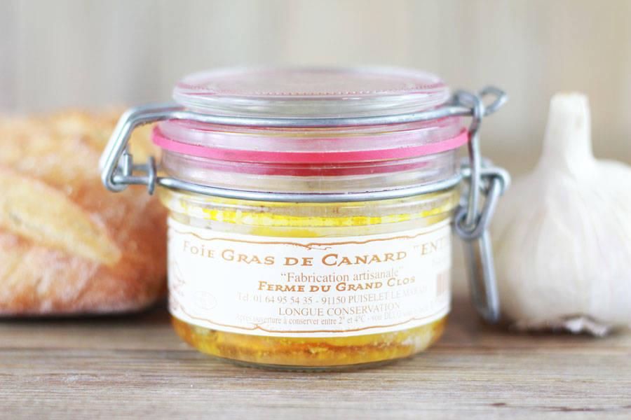 Foie gras de canard Entier conserve - Ferme du Grand Clos - La Ruche qui dit Oui ! à la maison
