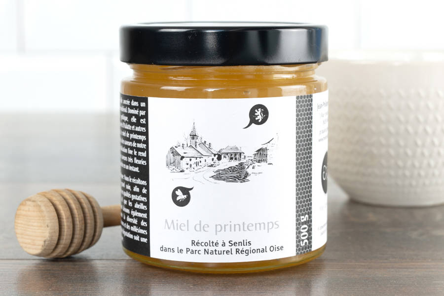 Miel de printemps d'Oise 500 g - Miel de village - La Ruche qui dit Oui ! à la maison