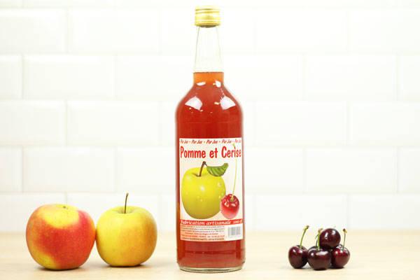 Jus de pomme et cerise - Vergers de Molien