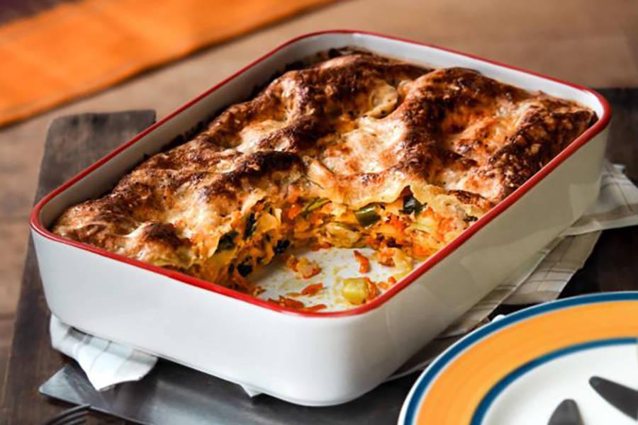 Lasagne végétarienne TRIO - FamilEat - La Ruche qui dit Oui ! à la maison