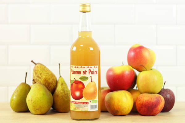 Jus de pomme et poire - Vergers de Molien