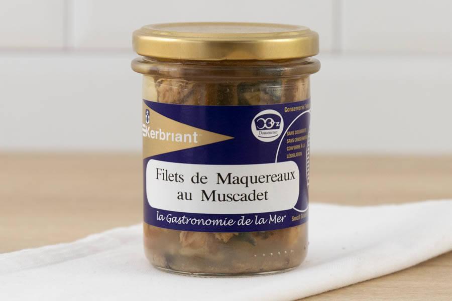 Filets de maquereaux au muscadet - Conserverie artisanale Kerbriant - La Ruche qui dit Oui ! à la maison