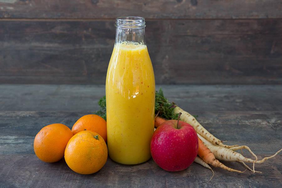 Kit smoothie pomme carotte orange en KIT - La Ruche Mama - La Ruche qui dit Oui ! à la maison