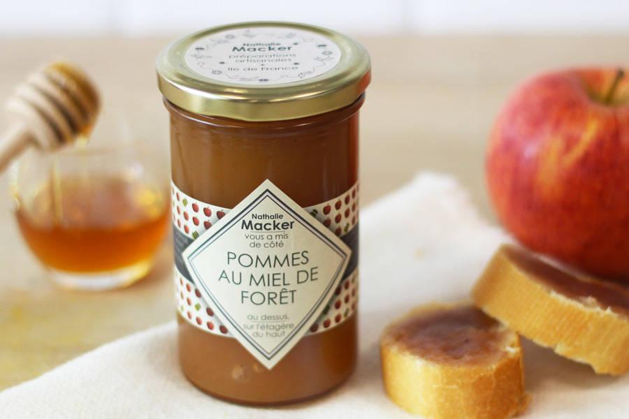 Pomme au miel de forêt - Au dessus, sur l'étagère du haut - La Ruche qui dit Oui ! à la maison