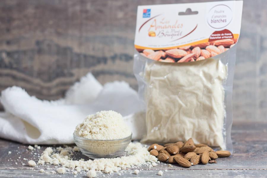Poudre d'amande blanche - Les amandes du Mont Bouquet - La Ruche qui dit Oui ! à la maison