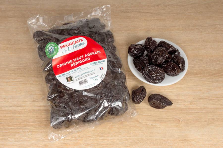 Pruneaux mi-cuits géants (1kg) - Le Verger de Loïc - La Ruche qui dit Oui ! à la maison