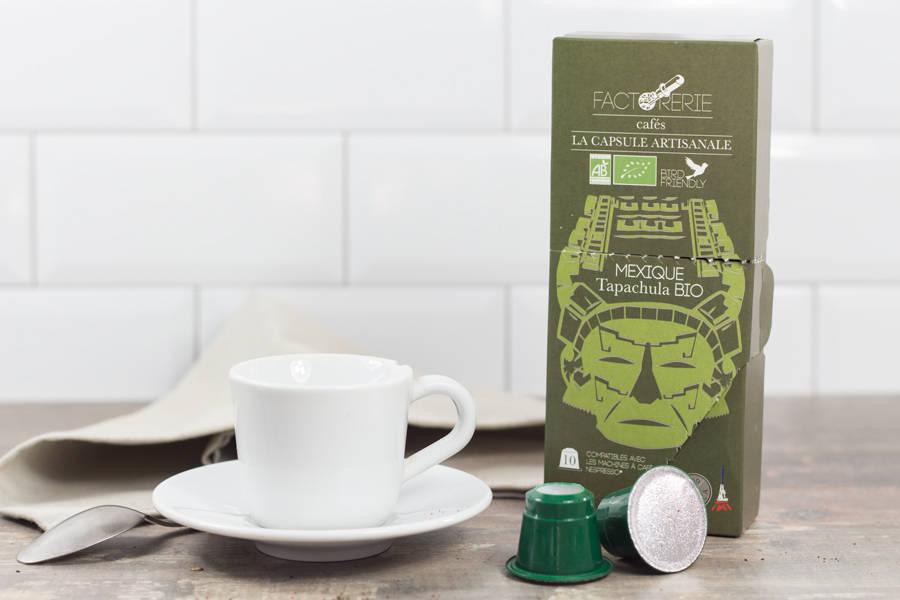 Mexique BIO capsules - Cafés Factorerie - La Ruche qui dit Oui ! à la maison