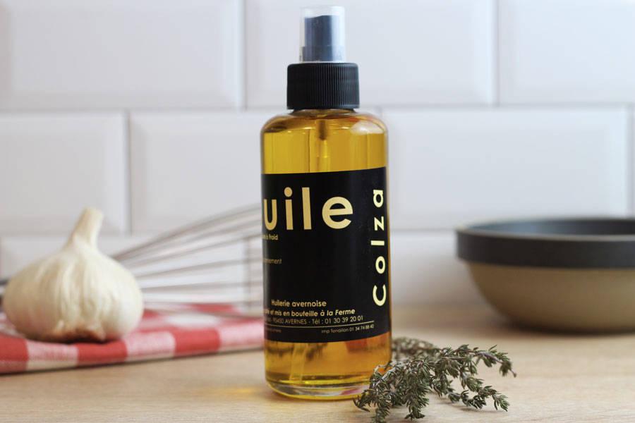 Vaporisateur huile de colza  - Huilerie Avernoise - La Ruche qui dit Oui ! à la maison