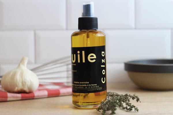 Vaporisateur huile de colza  - Huilerie Avernoise
