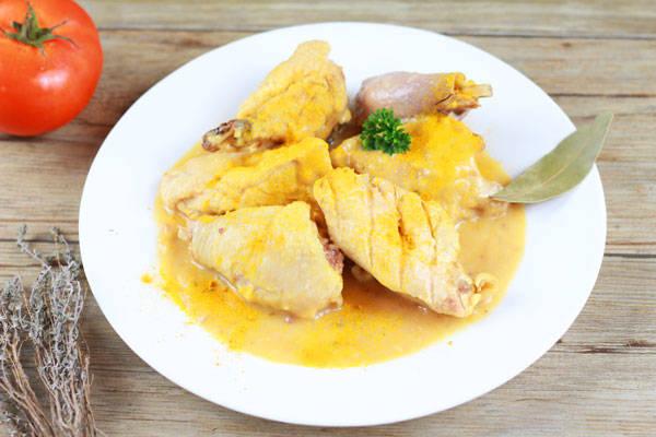 Fricassée de poule au curry - Ferme des Parrichets - Le Comptoir Local