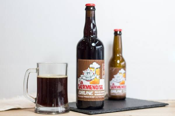 La Germenoise brune 75cl - Association les amis de Germenoy