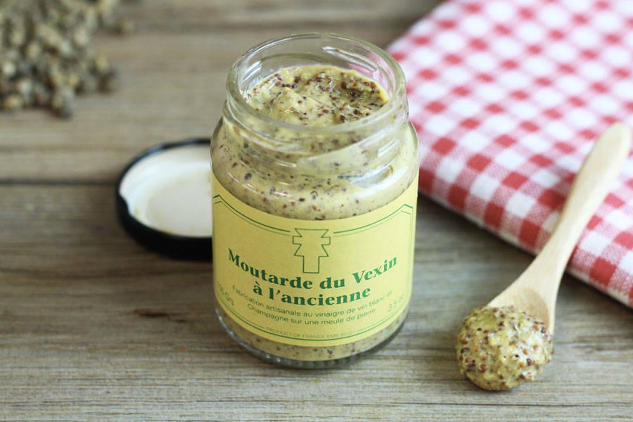 Moutarde à l'ancienne - Ferme de la Distillerie - La Ruche qui dit Oui ! à la maison