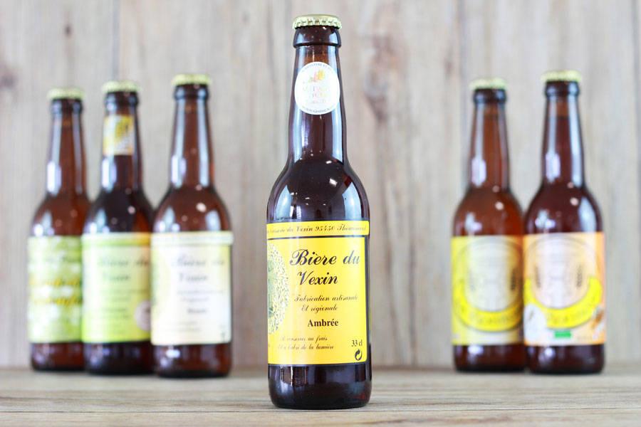 Bière du Vexin Ambrée - Brasserie du Vexin - La Ruche qui dit Oui ! à la maison