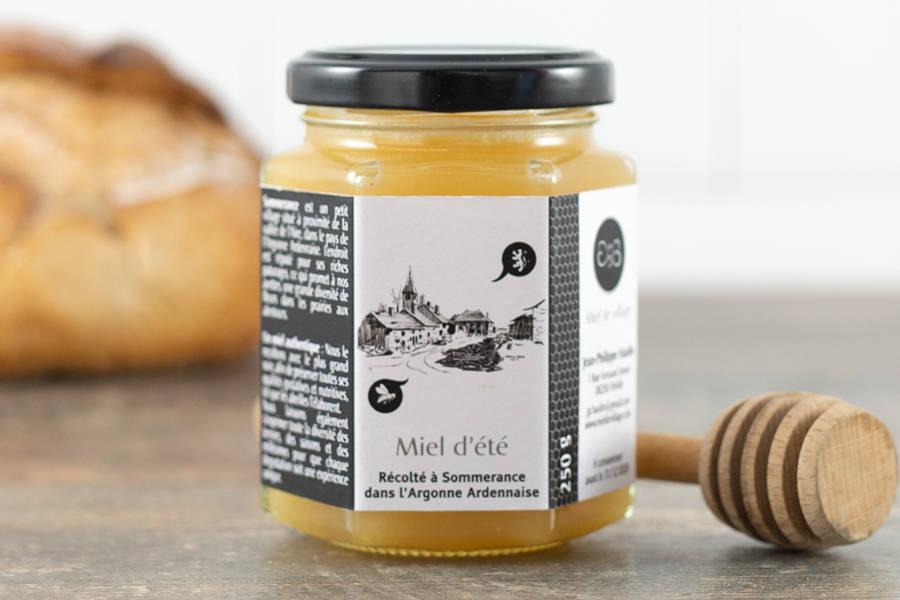 Miel de fleurs d'été 250 g - Miel de village - La Ruche qui dit Oui ! à la maison