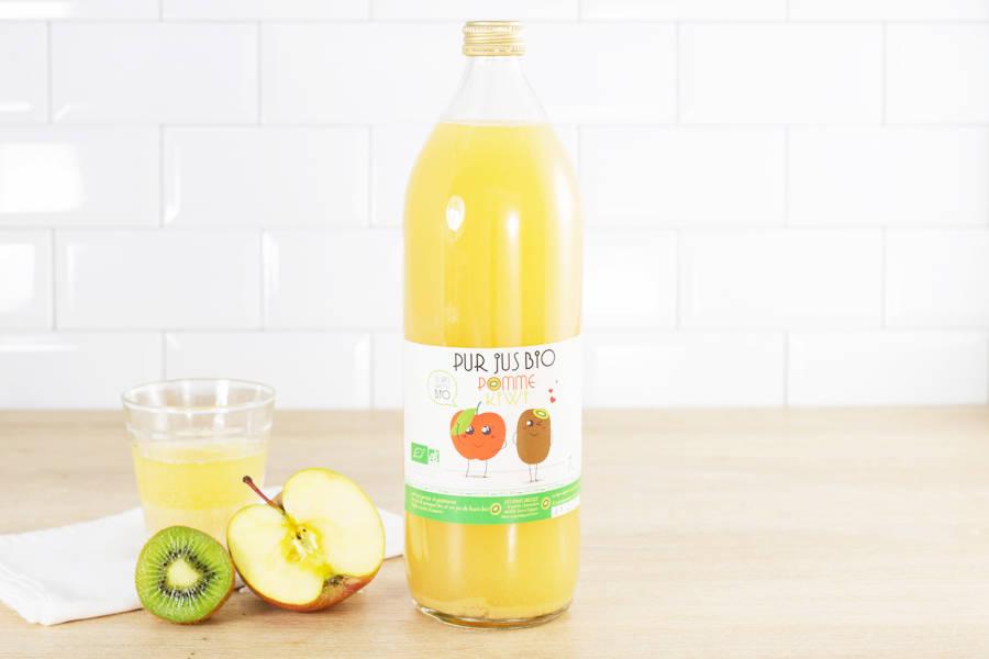 Jus pomme kiwi - Vergers de la Chaunière - La Ruche qui dit Oui ! à la maison