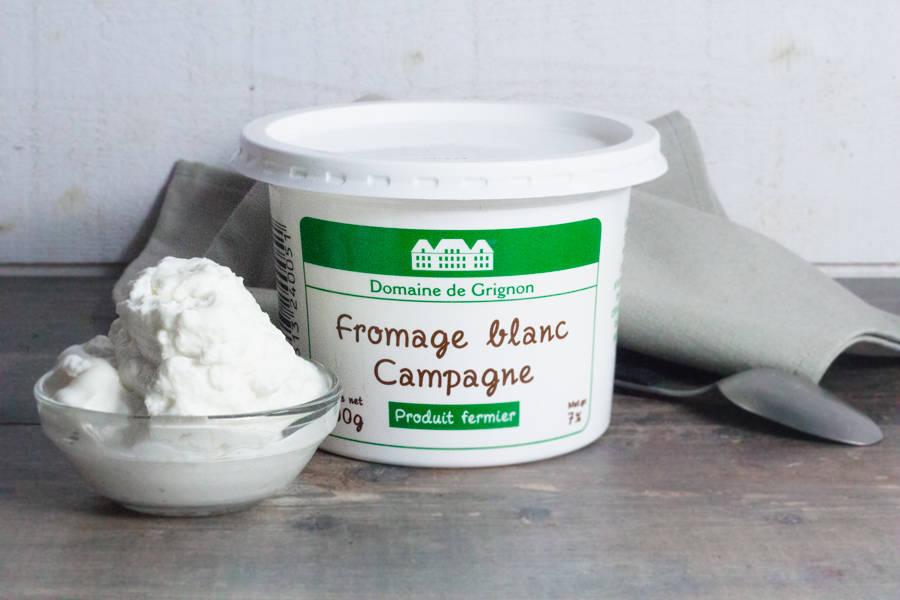 Fromage blanc campagne - Ferme de Grignon - La Ruche qui dit Oui ! à la maison