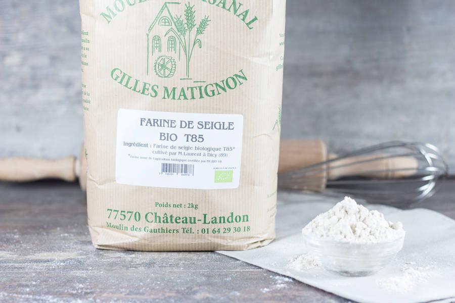 Farine de seigle T85 BIO - Moulin artisanal Gilles Matignon - La Ruche qui dit Oui ! à la maison