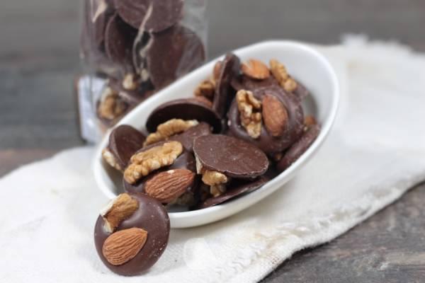 Mendiants au chocolat au lait - Le Furet Tanrade - Le Comptoir Local