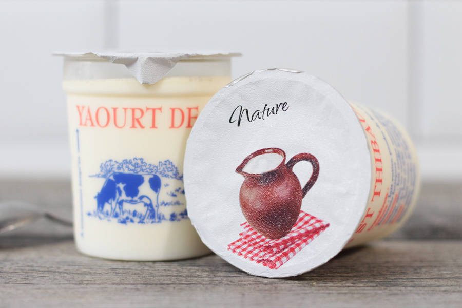 Yaourt nature - Ferme de Saint-Thibault des Vignes - La Ruche qui dit Oui ! à la maison