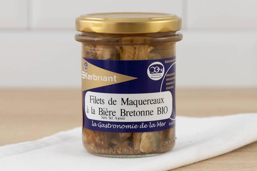 Filets de maquereaux à la bière bretonne - Conserverie artisanale Kerbriant - La Ruche qui dit Oui ! à la maison