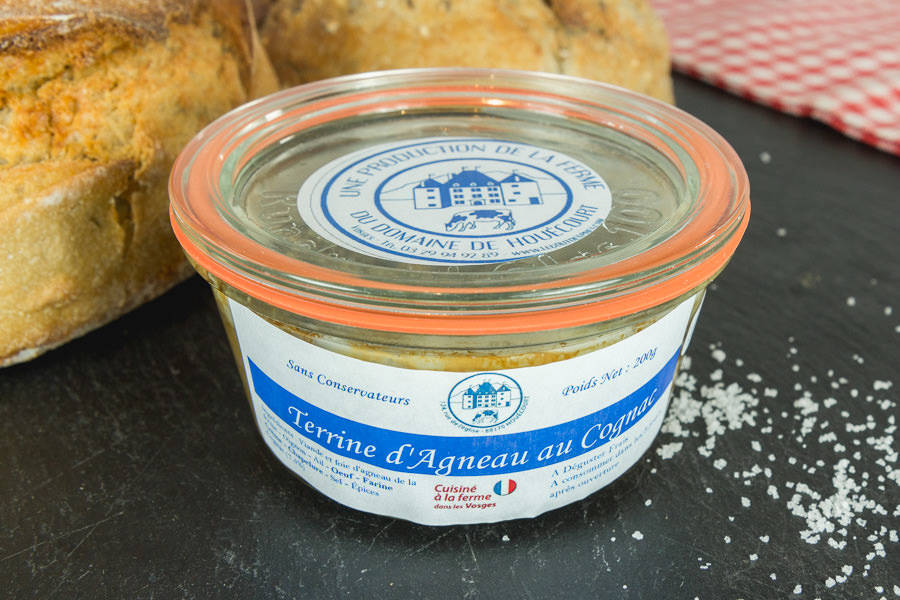Terrine d'agneau au cognac - Le Goût des Prés - La Ruche qui dit Oui ! à la maison