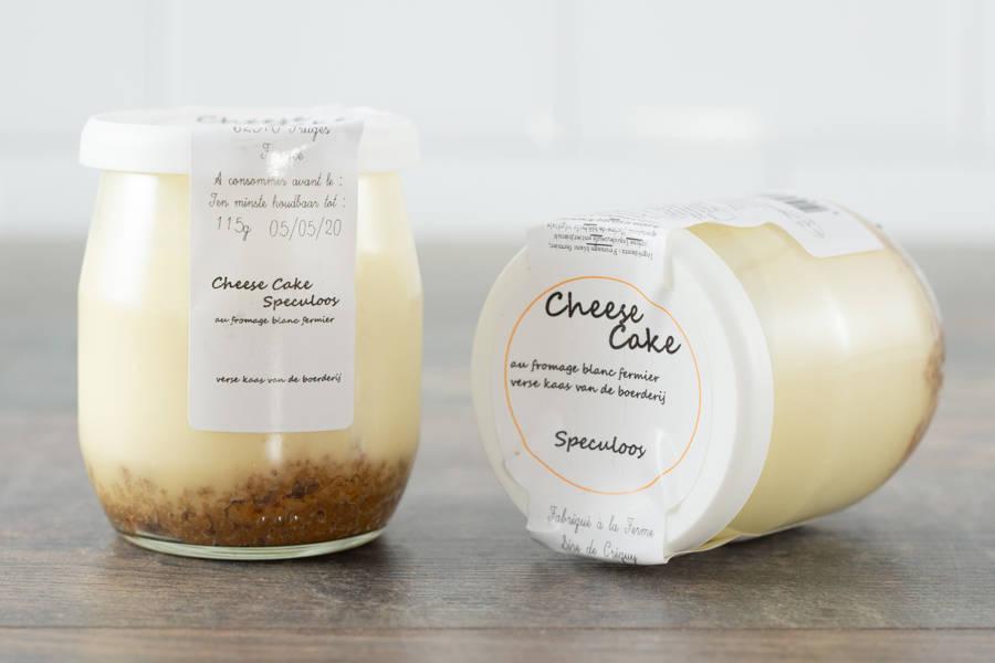 Crème dessert (façon cheese-cake) - Ferme du Sire de Créquy - La Ruche qui dit Oui ! à la maison
