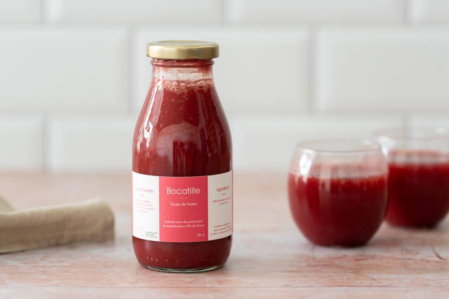 Soupe de fraise - Conserverie de Larnière - La Ruche qui dit Oui ! à la maison