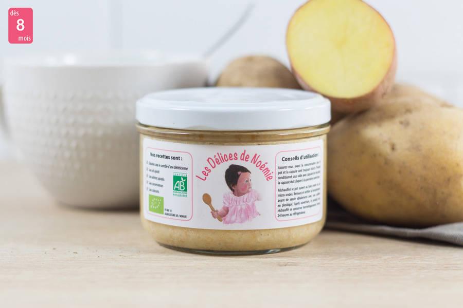 Mouliné de fenouil et pomme de terre à l'emmental BIO - Les Délices de Noémie - La Ruche qui dit Oui ! à la maison