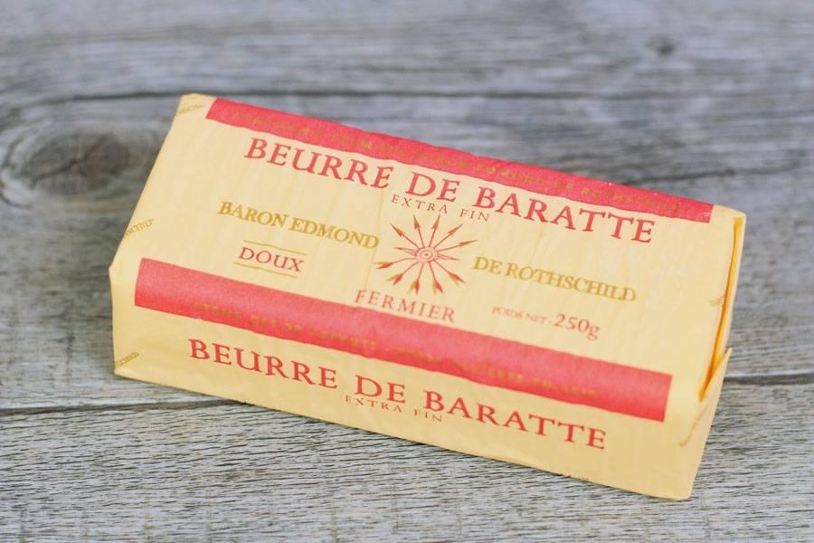 Beurre de baratte doux - Domaine des 30 Arpents - La Ruche qui dit Oui ! à la maison