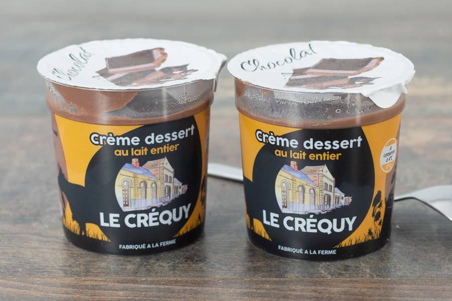 Crème dessert Chocolat - Ferme du Sire de Créquy - La Ruche qui dit Oui ! à la maison