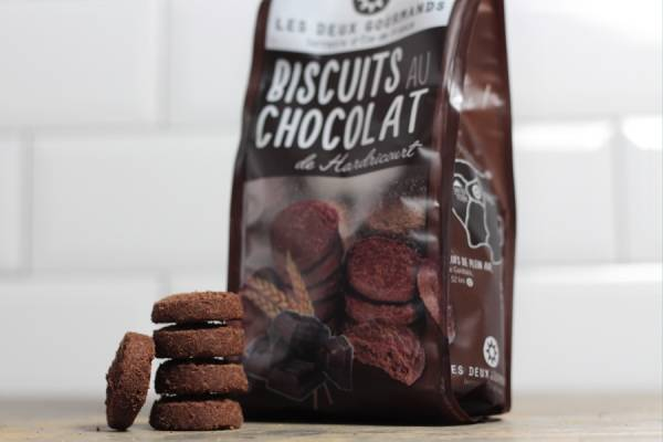 Biscuits au chocolat d'Hadricourt  - Les Deux Gourmands