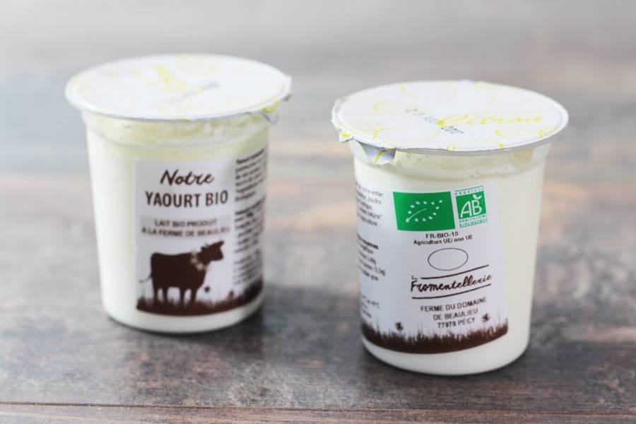 Yaourt aromatisé citron BIO  - La Fromentellerie - La Ruche qui dit Oui ! à la maison
