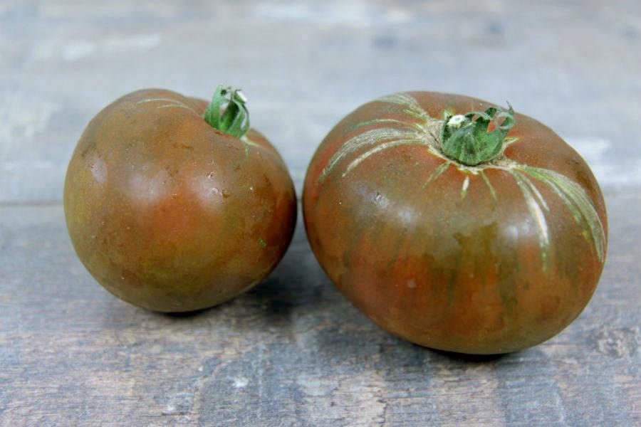 Tomate noire russe BIO - Ferme Lafouasse - La Ruche qui dit Oui ! à la maison