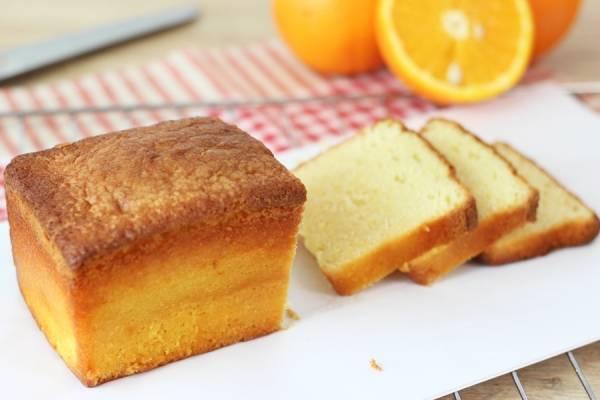 Cake à l'orange - Les Desserts d'Ici