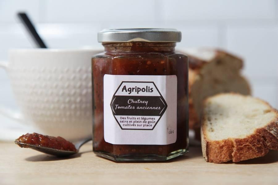 Chutney de tomate ancienne - Agripolis - La Ruche qui dit Oui ! à la maison