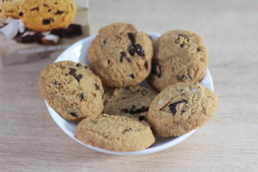 Cookies Sans Gluten Chocolat Noir Noix de Coco - Les Affranchis - La Ruche qui dit Oui ! à la maison
