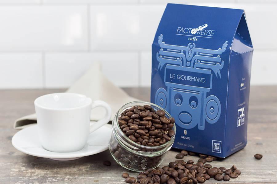 Gourmand grains - Cafés Factorerie - La Ruche qui dit Oui ! à la maison