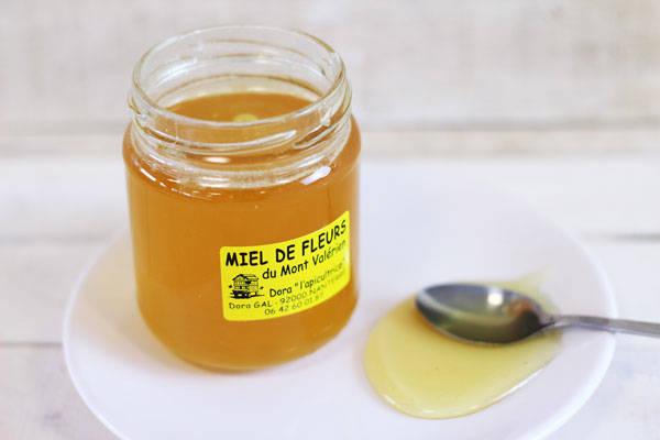 Miel du Mont Valérien 250g - Dora l'apicultrice