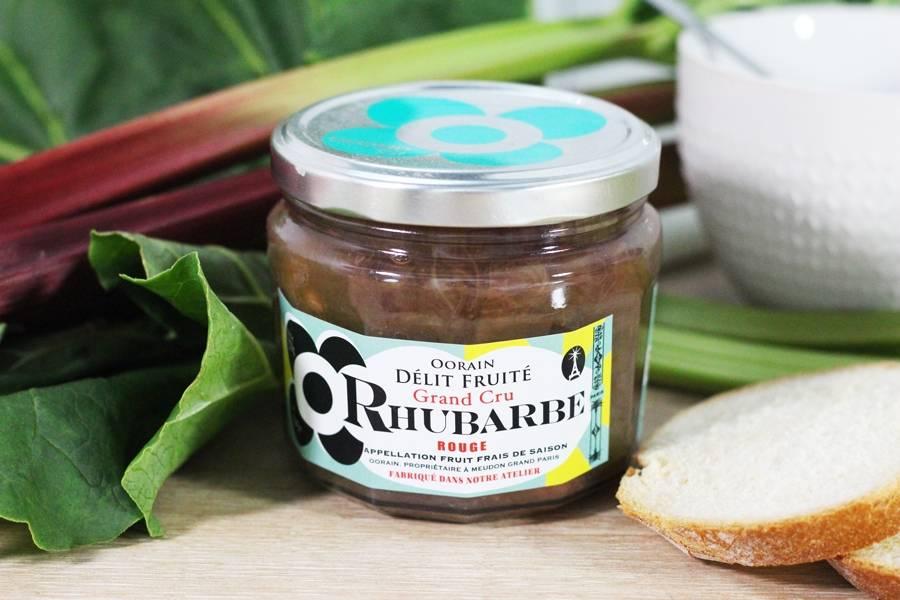 Délit Fruité Rhubarbe Rouge - Oorain - La Ruche qui dit Oui ! à la maison
