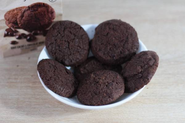Cookies Sans Gluten Tout Chocolats et Chocolat Noir du pérou - Les Affranchis