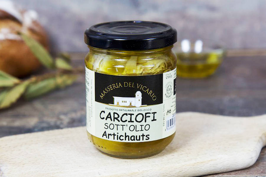 Artichauts à l'huile d'olive extra-vierge BIO - Antonio Cordisco - La Ruche qui dit Oui ! à la maison