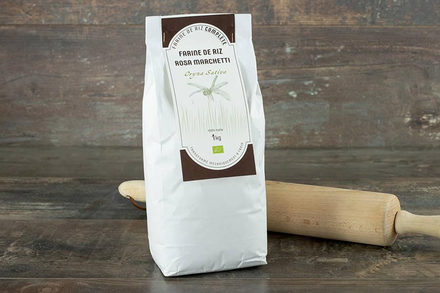 Farine de riz 1kg - BIO - Umile - La Ruche qui dit Oui ! à la maison