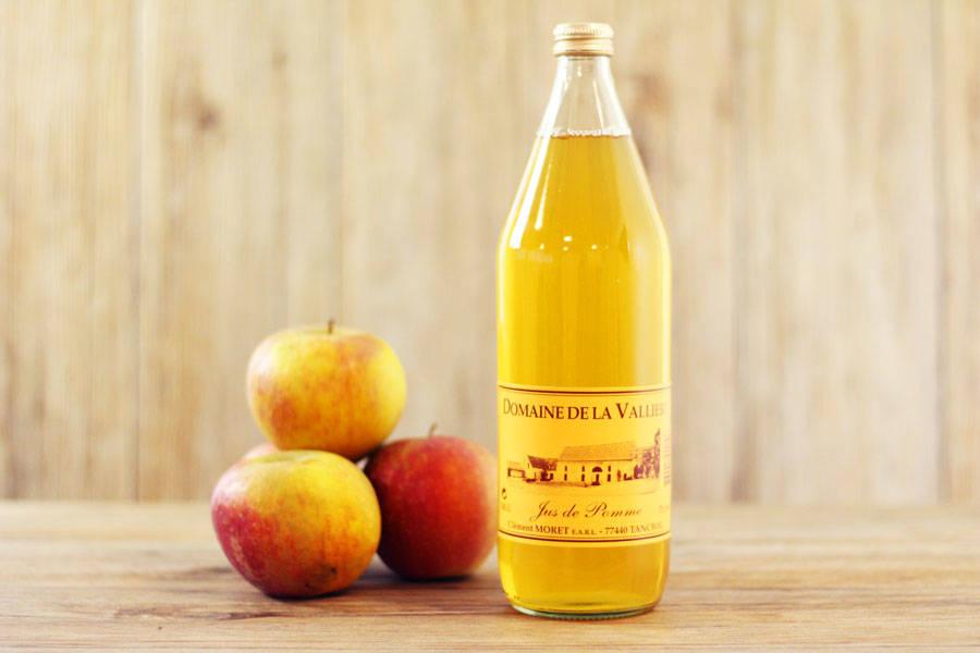 Jus de pomme - Domaine de la Vallière - La Ruche qui dit Oui ! à la maison