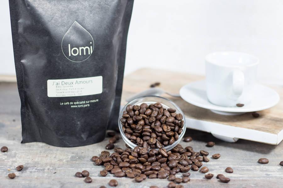 J'ai Deux Amours - Grains - Café Lomi - La Ruche qui dit Oui ! à la maison